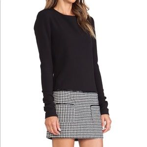 Rachel Zoe Addie houndstooth dress Size 2